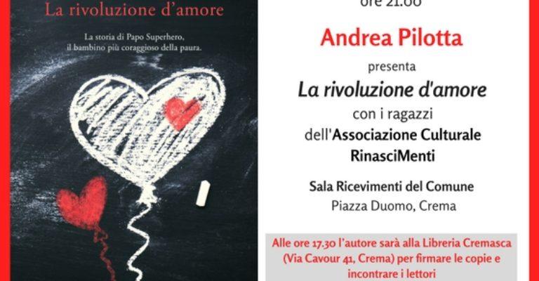 Incontro con l'autore: Andrea Pilotta