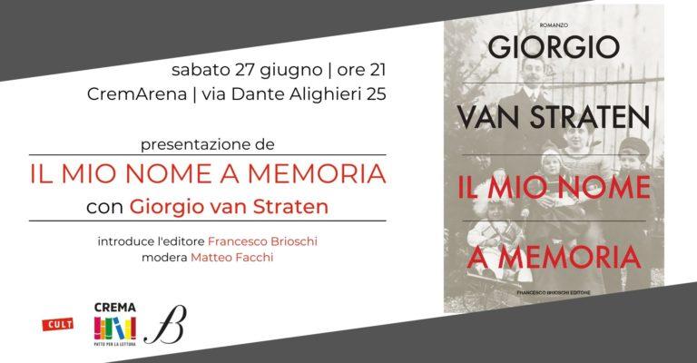 Incontro con l'autore: Giorgio Van Straten