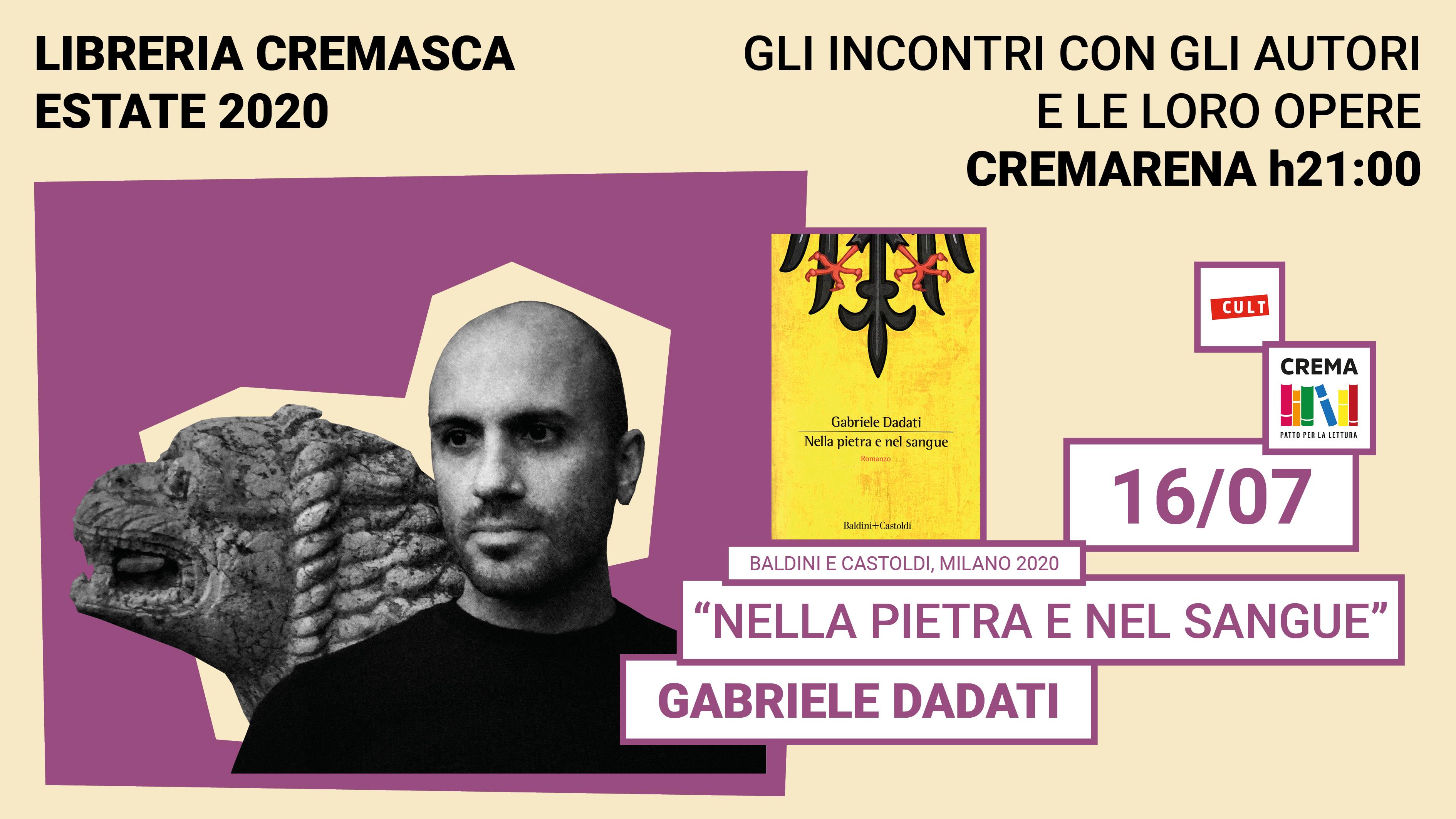 Incontro con l'autore: Gabriele Dadati