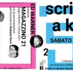 Scrittori a km 0: Gabriel Garcìa Pavesi ed Ed Warner