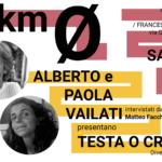 Scrittori a km 0: Alberto e Paola Vailati