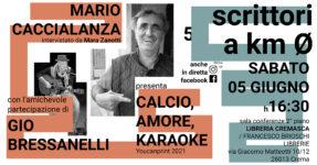 Scrittori a km 0: Mario Caccialanza
