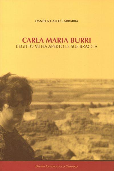 Carla Maria Burri. L'Egitto mi ha aperto le sue braccia